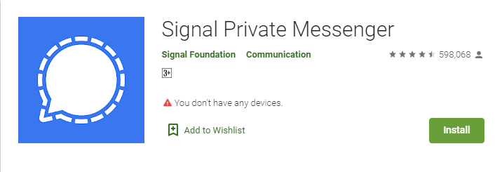 Signal Private Messenger for Windows