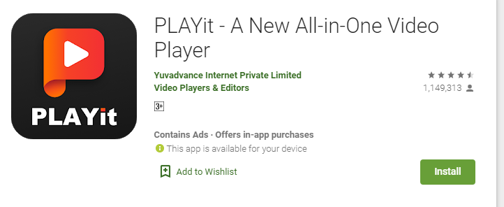 PLAYit for Mac PC Laptop