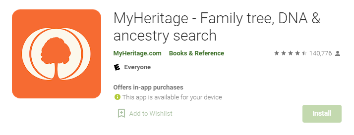 MyHeritage for Mac PC