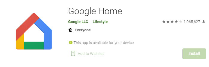 Google Home for Mac PC Laptop
