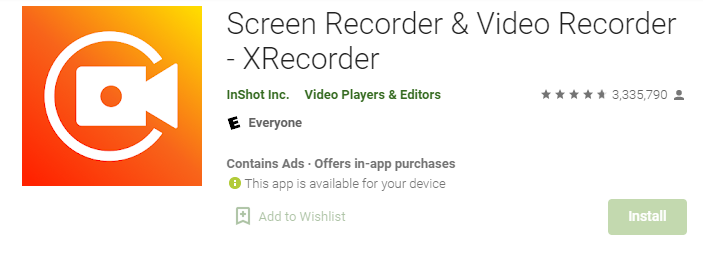 X Recorder for Mac PC