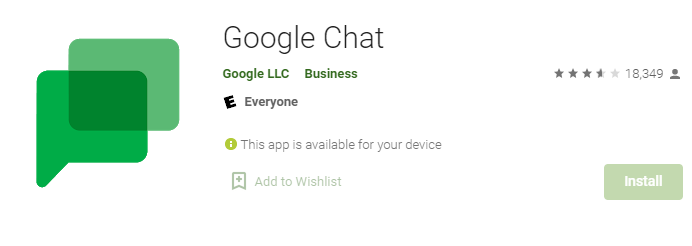 Google Chat for Mac PC