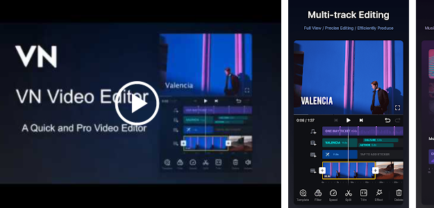 VN Video Editor for Windows PC